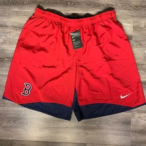 Nike Men's Dri-Fit MLB Boston Red Sox Shorts XXL